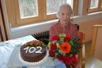 Stanovalka KURAN Frančiška stara 102 leti!